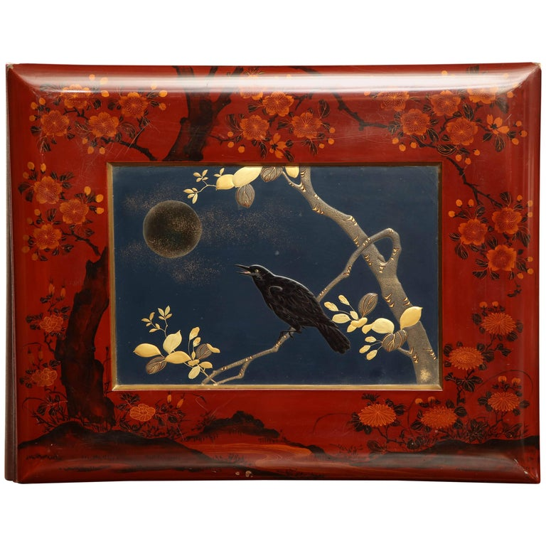 Early 20th Century Japanese Lacquer Album For Sale