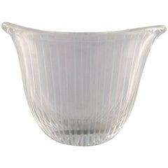 Tapio Wirkkala for Iittala, Finland 1960s, Clear Glass Vase