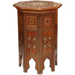 Superb 19th Century Syrian Tabouret