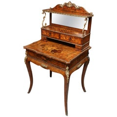 19th Century Inlaid Ladies Desk
