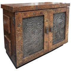 Arenson Studios Midcentury Side Cabinet