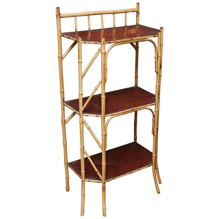 Superb 19th Century English Bamboo Book Stand