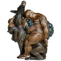 Kai Nielsen Bing & Grondahl Denmark Stoneware Art Deco Figure