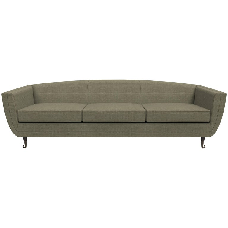 Custom Carlo Upholstered Sofa from William Collins Collection