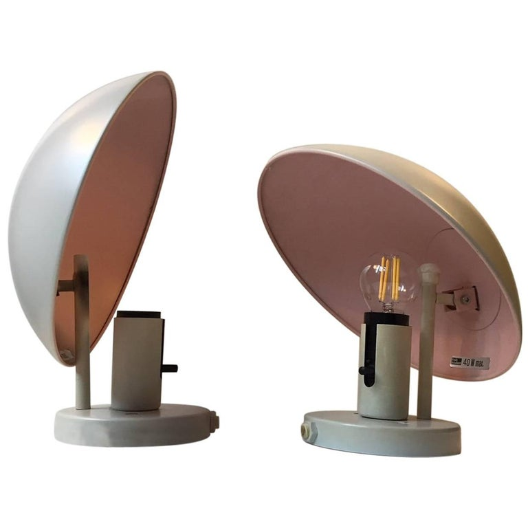 Vintage Pair of PH-Hat Wall Lights by Poul Henningsen for Louis Poulsen, 1970s