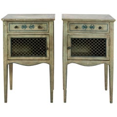 Italian Painted Side Tables, circa 1890