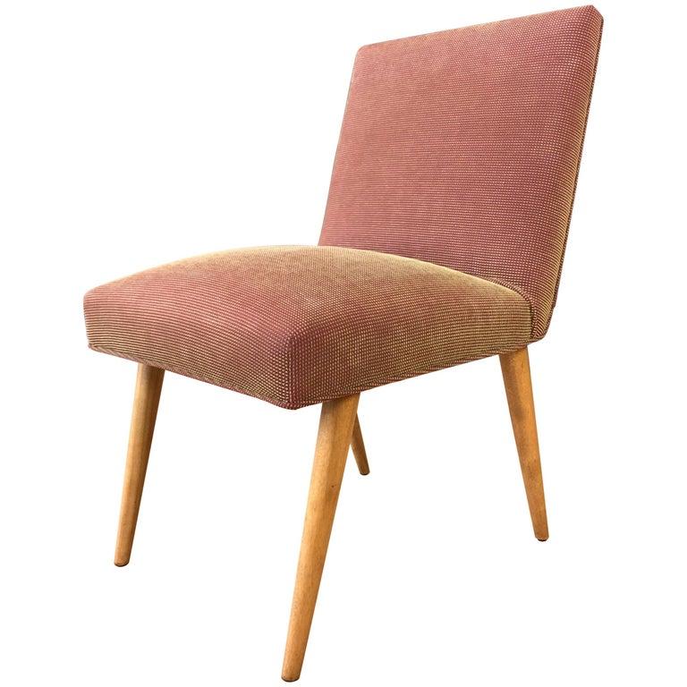 T.H. Robsjohn-Gibbings for Widdicomb Model 1686 Maple Dining Chair