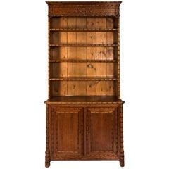 English Faux Bamboo Cabinet, circa 1890