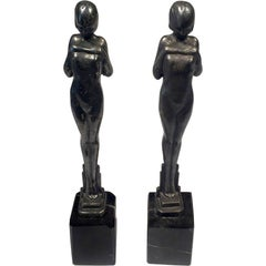 Frankart Deco Bookends