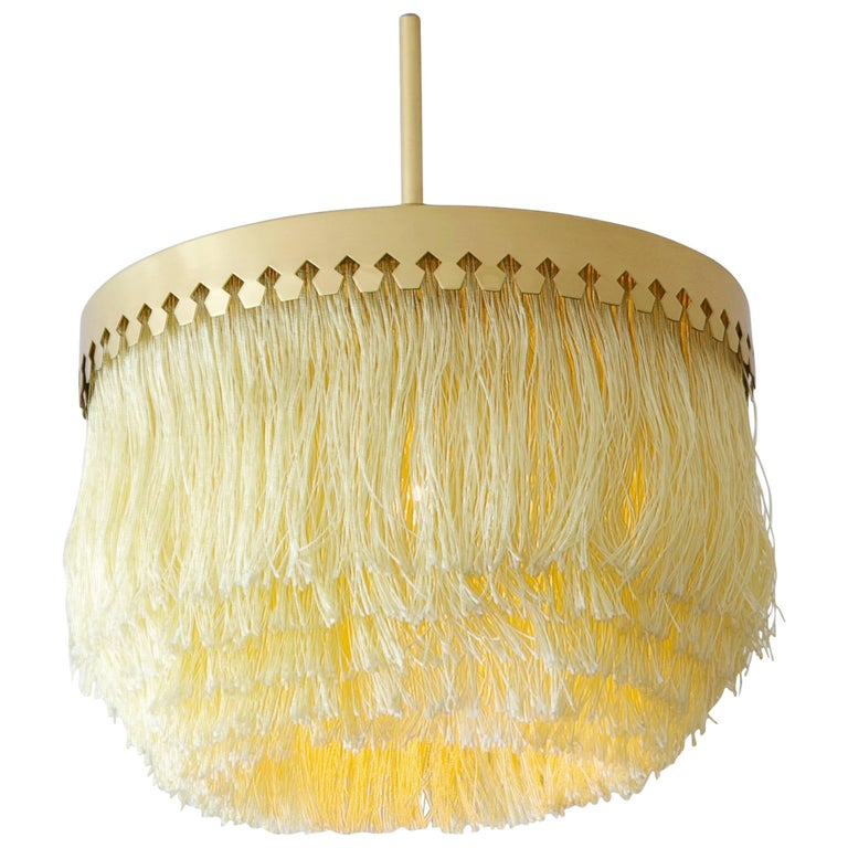 Hans-Agne Jakobsson Fringes Ceiling Light For Sale