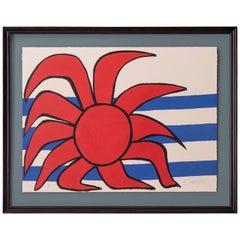 Alexander Calder original lithograph