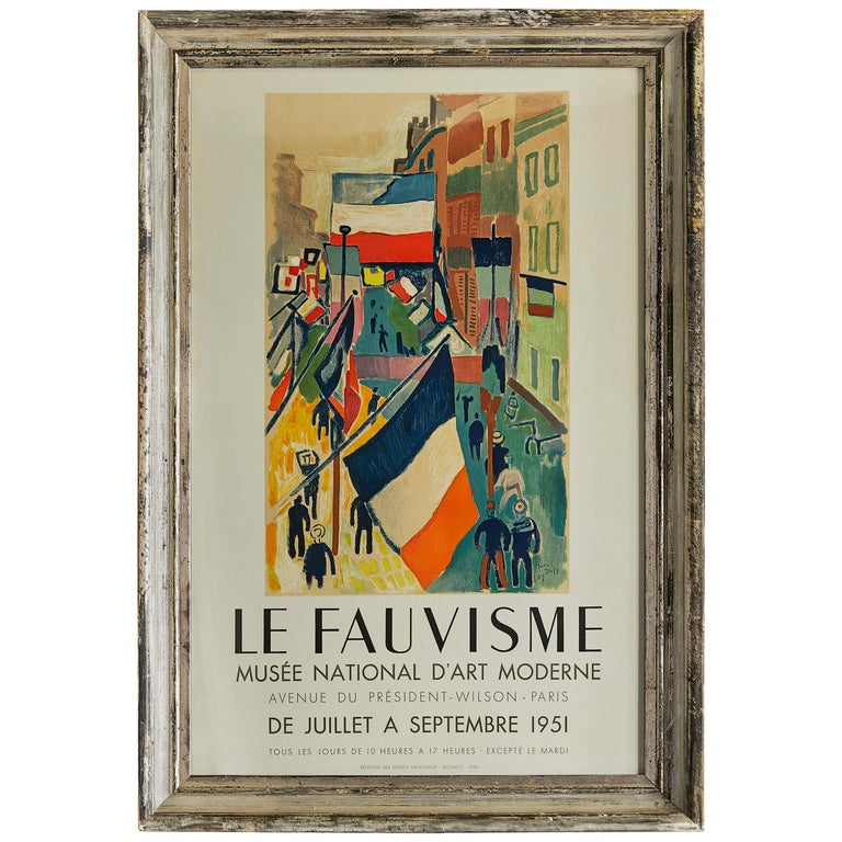 Raoul Dufy Vintage Poster For Sale