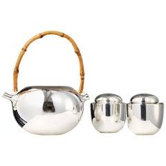 Tea Set Designed by Vivanna Torun Bülow-Hübe for Dansk International Designs