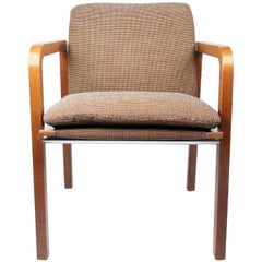 Thonet Upholstered Bentwood Armchair