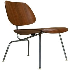 Charles & Ray Eames for Herman Miller 1960s LCM Lounge Chair in Walnut