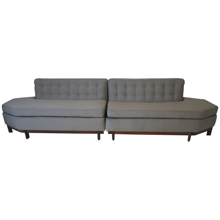 Frank Lloyd Wright Sectional Sofa for Heritage Henredon