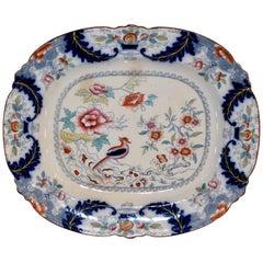 19th Century Ironstone Platter