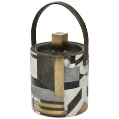Shagreen Ice Bucket Offered by Area ID