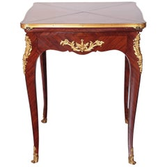19th Century French Signed P Sormani Envelope Game Table