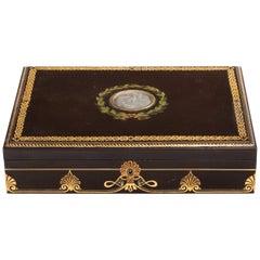 Fine Mid-Victorian Papier Mâché Box by Jennens & Bettridge