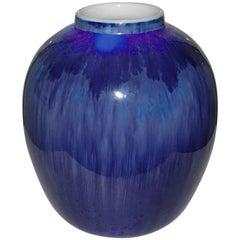 Royal Copenhagen Unique Crystalline Vase from 11-1-1928