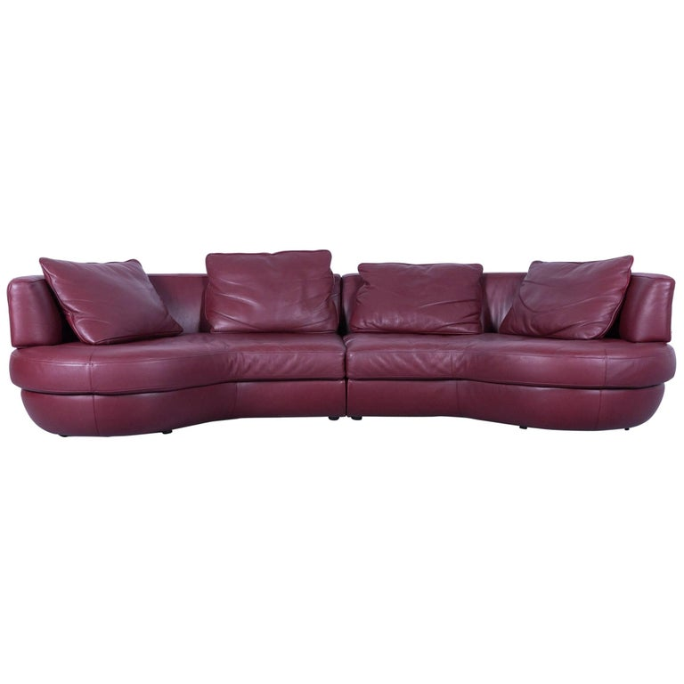 Italsofa Leather Sofa: Natuzzi Leather Sofa By Italsofa For Sale At 1stdibs