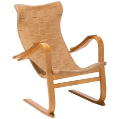 Swedish lounge chair, model Patronen by G.A. Berg, 1940s
