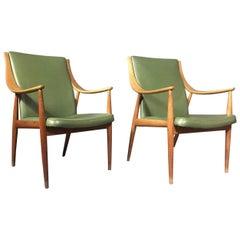 Hvidt and Mølgaard-Nielsen Easy Chair, France & Søn, Denmark, 1953
