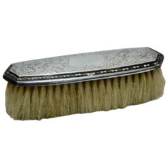 Late 19th Century Sterling Silver Clothes Brush by George K. Webster Co.
