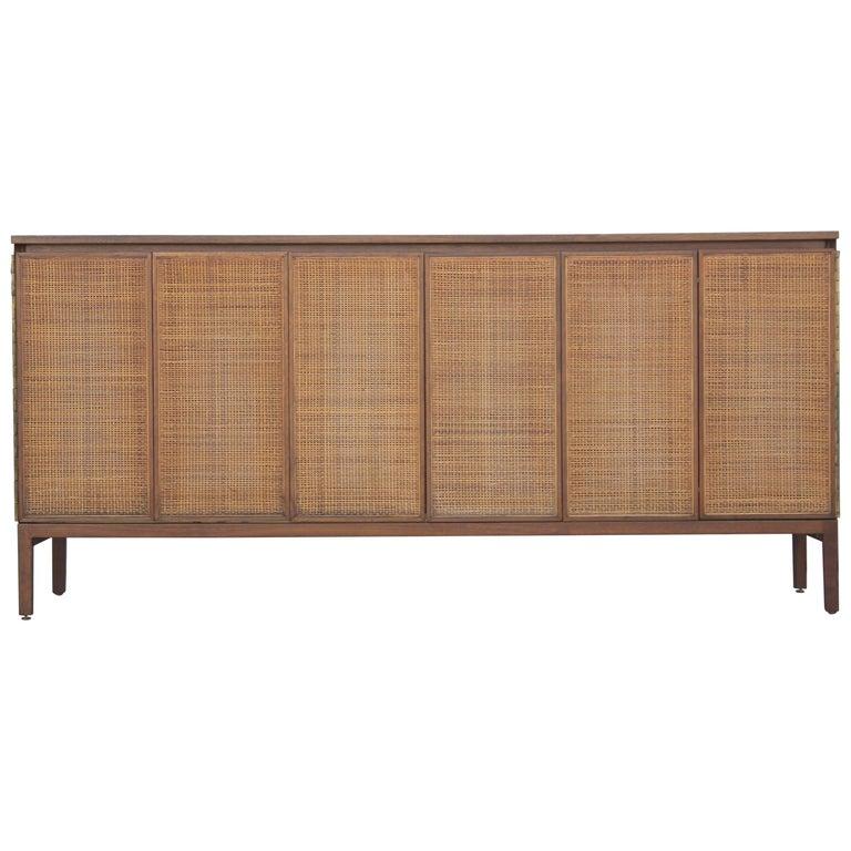 Modern Paul McCobb for Calvin Cane Panelled Eight-Drawer Dresser