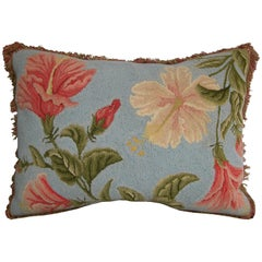 American Hooked Pillow, circa 1920 1509p