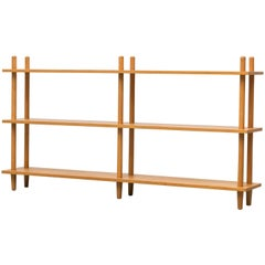 Blonde Modernist Standing Bookshelf