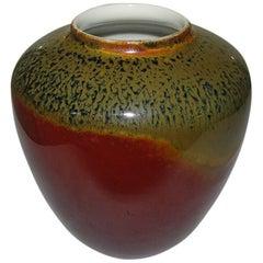 Royal Copenhagen Crystalline Glaze Vase by Frederik Ludvigsen, FL793