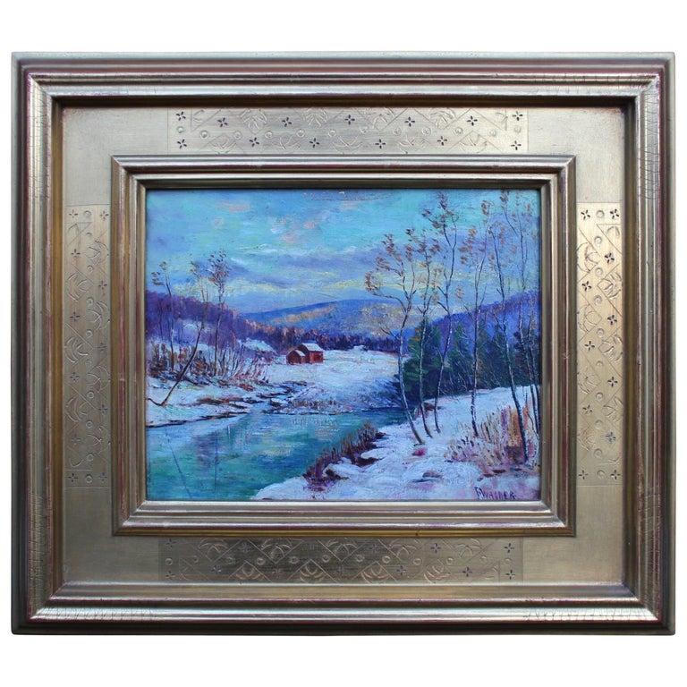 Winter Landscape by Frank Wagner