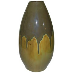 Royal Copenhagen Runninglaze/Crystalline Vase by Frederik Ludvigsen