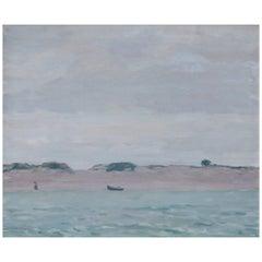 """Sand Harbor"" by William Langston Lathrop"