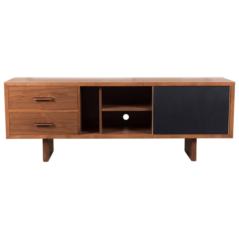 Inverness Media Cabinet by Lawson-Fenning For Sale