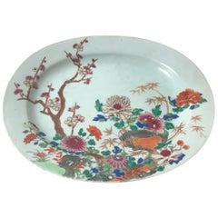 Late Kangxi Chinese Export Platter