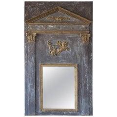Stunning Trumeau Directoire Mirror, circa 1800
