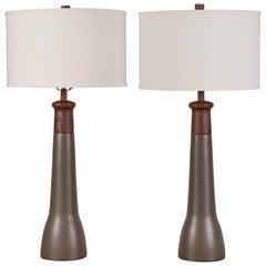 Pair of Martz Lamps