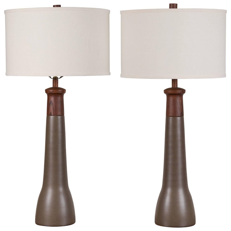 Pair of Martz Lamps For Sale
