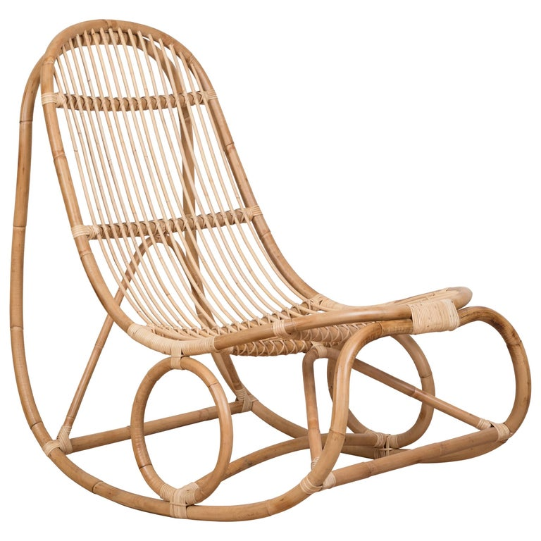 Nanny Rocking Chair by Nanna Ditzel For Sale
