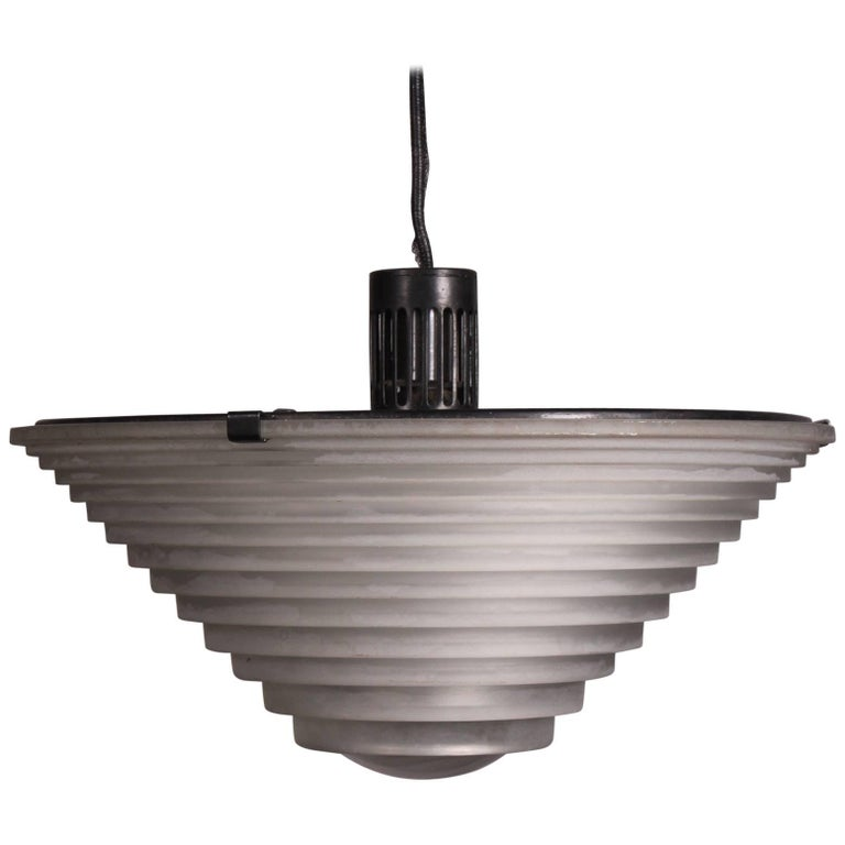 """Egina"" Pendant Lamps by Angelo Mangiarotti for Artemide"