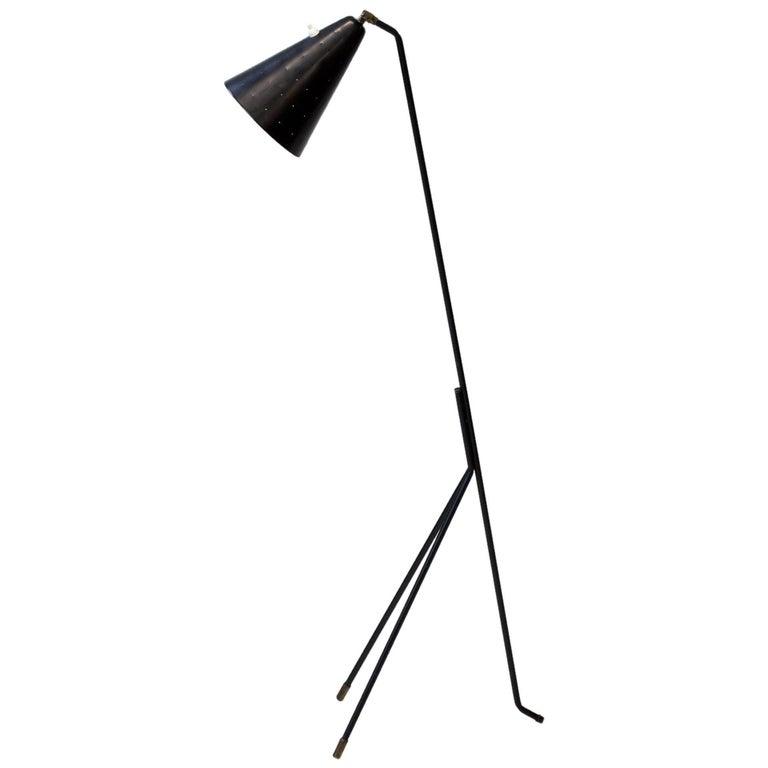 Floor Lamp by Svend Aage Holm Sørensen, Denmark, 1950s