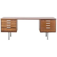 1960s Kai Kristiansen Rosewood Writing Desk for Feldballes Møbelfabrik