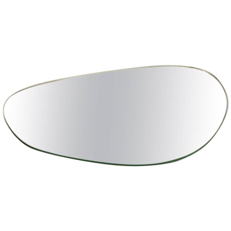 Stone Brazilian Contemporary Mirror Tray by Lattoog