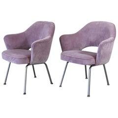 Pair of Eero Saarinen Side Chairs