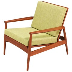 Danish Modern Teak Lounge Chair -Denmark