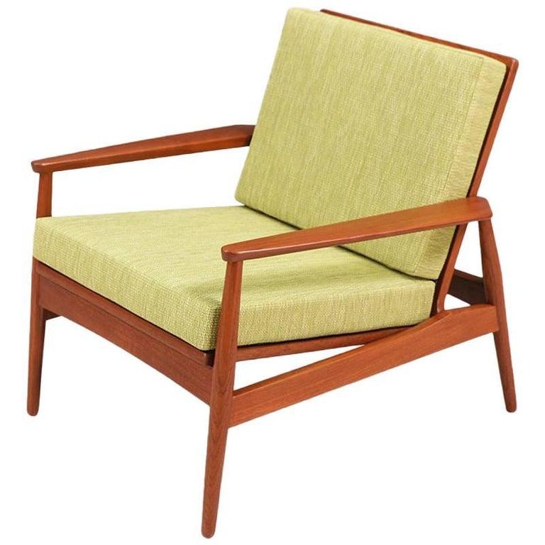 Danish Modern Teak Lounge Chair -Denmark