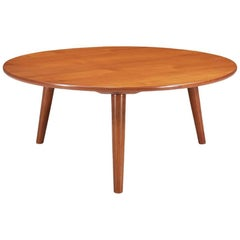 Hans J. Wegner Round Coffee Table for Andreas Tuck